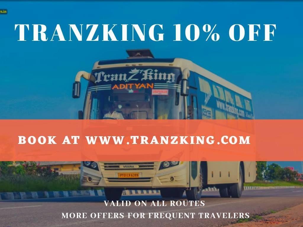 Tranzking Travels Chennai Coimbatore AC Sleeper Bus Service